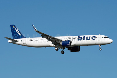 First Airblue Airbus A321neo