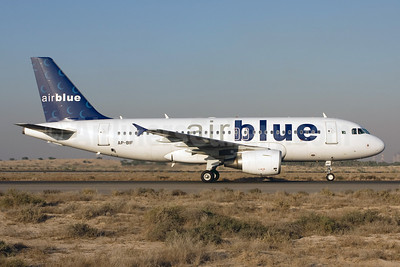 Airblue Airbus A319-112 AP-BIF (msn 3388) SHJ (Michael Stappen). Image: 905834.
