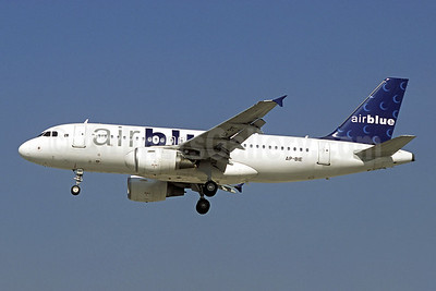Airblue Airbus A319-112 AP-BIE (msn 3385) DXB (Christian Volpati). Image: 909899.