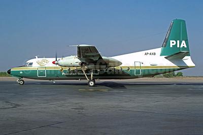 PIA-Pakistan International Airlines Fokker F.27 Mk. 200 AP-AXB (msn 10288) SHJ (Christian Volpati Collection). Image: 949131.