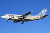 PIA (Pakistan International Airlines) Airbus A310-308 AP-BEB (msn 587) LHR (Keith Burton). Image: 901818.