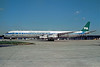 PIA (Pakistan International Airlines) (Seaboard World Airlines) McDonnell Douglas DC-8-61 (F) N8960T (msn 45938) (Loftleidir colrs) ORY (Christian Volpati). Image: 904654.