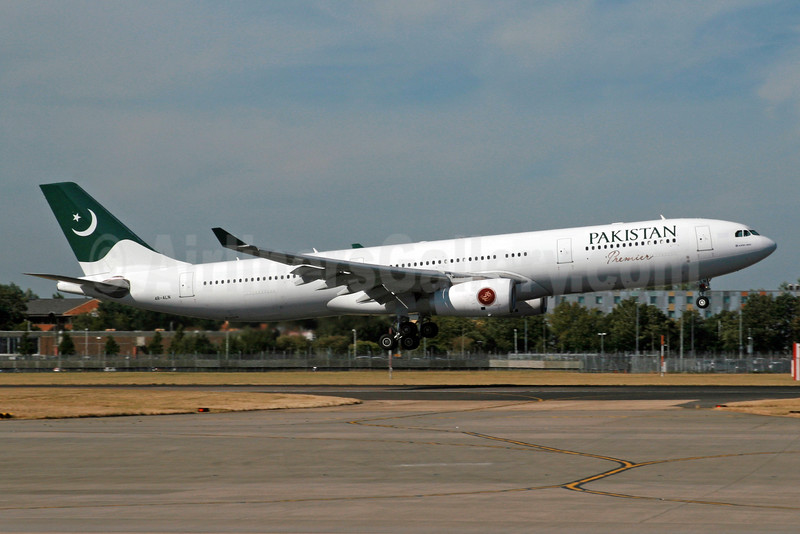 Pakistan Premier (Pakistan International Airlines) (SriLankan Airlines) Airbus A330-343 4R-ALN (msn 1604) LHR (SPA). Image: 934470.