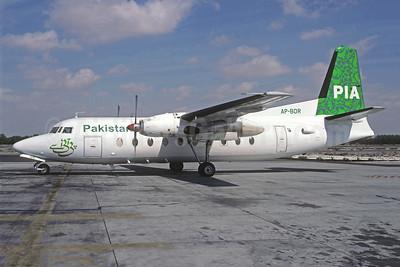 PIA-Pakistan International Airlines Fokker F.27 Mk. 200 AP-BDR (msn 10134) SHJ (Rolf Wallner). Image: 949132.