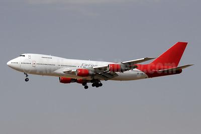 Rayyan Air Boeing 747-21AC AP-BIB (msn 23652) (Girjet colors) SHJ (Paul Denton). Image: 944659.