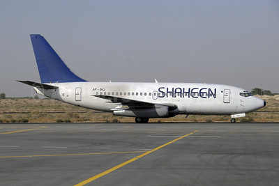 Shaheen Air International Boeing 737-258 AP-BIQ (msn 22857) SHJ (Paul Denton). Image: 909710.
