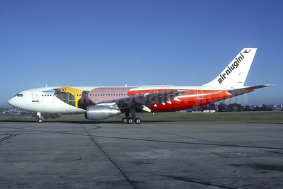 "Air Niugini's 1984 ""Raggiana Bird of Paradise"" special livery"