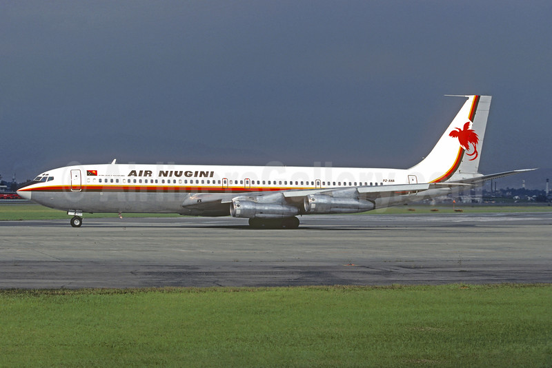 Air Niugini Boeing 707-338C P2-ANA (msn 19622) (Christian Volpati Collection). Image: 929443.