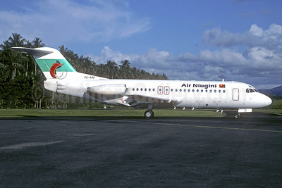 Air Niugini Fokker F.28 Mk. 4000 P2-AND (msn 11118) (Jacques Guillem Collection). Image: 949576.