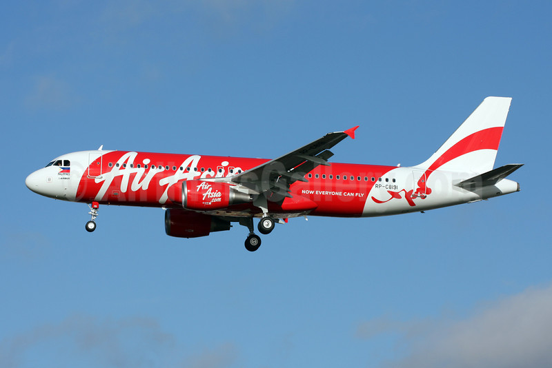 AirAsia (AirAsia.com) (Philippines) Airbus A320-216 RP-C8191 (msn 4989) LGW (Terry Wade). Image: 907757.