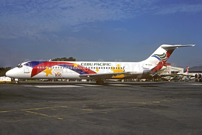 "Cebu Pacific's 1997 ""Philippine Centennial"" special livery"