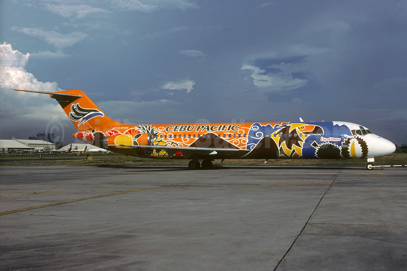 "Cebu Pacific's 1999 ""City of Davao"" special livery"