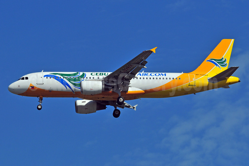 Cebu Pacific Air (Cebu Pacific Air.com) Airbus A320-214 RP-C3262 (msn 4537) BKK (Ken Petersen). Image: 910708.