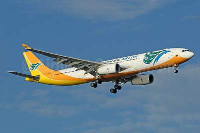 Cebu Pacific Air (Cebu Pacific Air.com) Airbus A330-343 RP-C3343 (msn 1495) SIN (Pascal Simon). Image: 939336.
