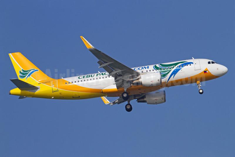 Cebu Pacific Air (Cebu Pacific Air.com) Airbus A320-214 WL RP-C3273 (msn 5498) (Sharklets) SIN (Kok Chwee K. C. Sim). Image: 913137.