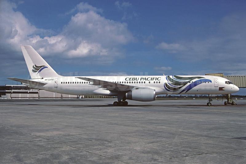 Cebu Pacific Air Boeing 757-236 RP-C2715 (msn 24371) MNL (Michel Saint-Feliix). Image: 934216.