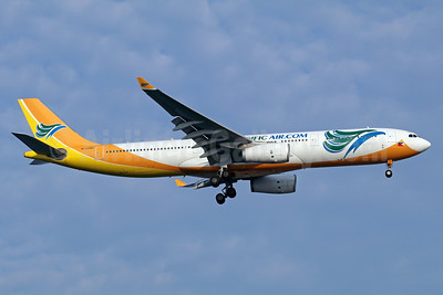 Cebu Pacific Air (Cebu Pacific Air.com) Airbus A330-343 RP-C3343 (msn 1495) SIN (Michael B. Ing). Image: 934876.