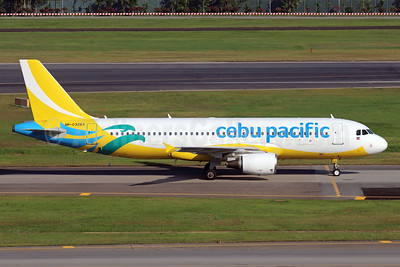 Cebu Pacific Air Airbus A320-214 RP-C3263 (msn 4574) SIN (Michael B. Ing). Image: 939333.