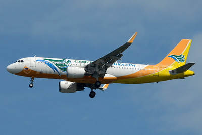 Cebu Pacific Air (Cebu Pacific Air.com) Airbus A320-214 WL RP-C4105 (msn 6777) BKK (Jay Selman). Image: 403105.