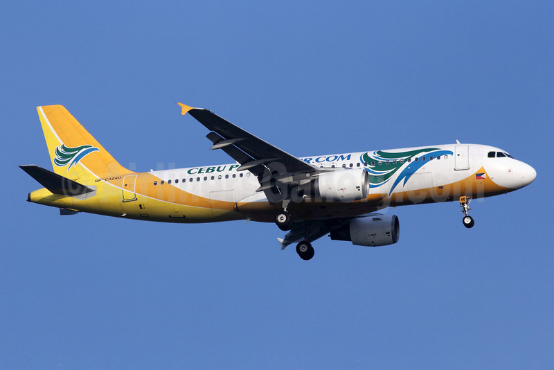 Cebu Pacific Air (Cebu Pacific Air.com) Airbus A320-214 RP-C3240 (msn 2419) SIN (Michael B. Ing). Image: 907297.