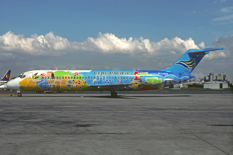 "Cebu Pacific's 1999 ""City of Cebu"" special livery"