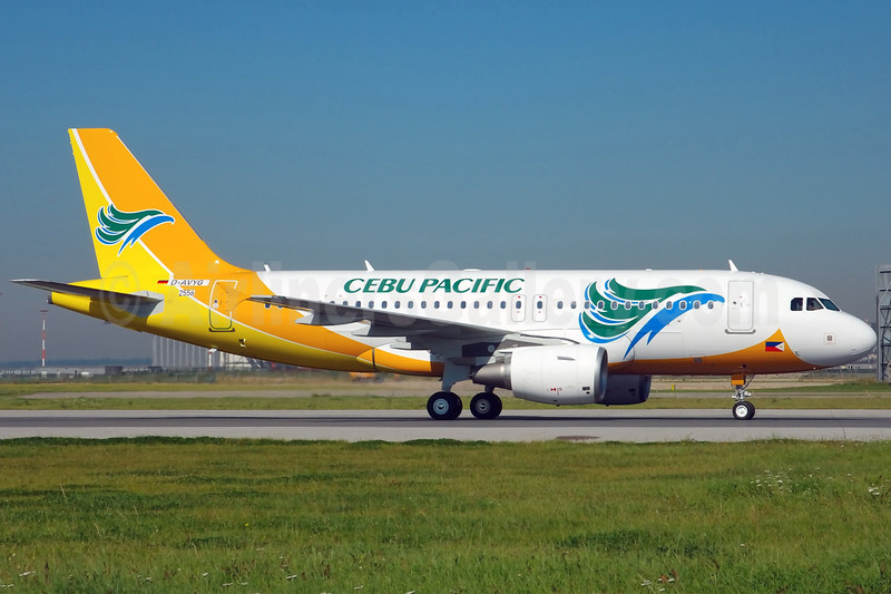Cebu Pacific Air (Cebu Pacific Air.com) Airbus A319-111 D-AVYG (RP-C3189) XFW (Gerd Beilfuss). Image: 900952.
