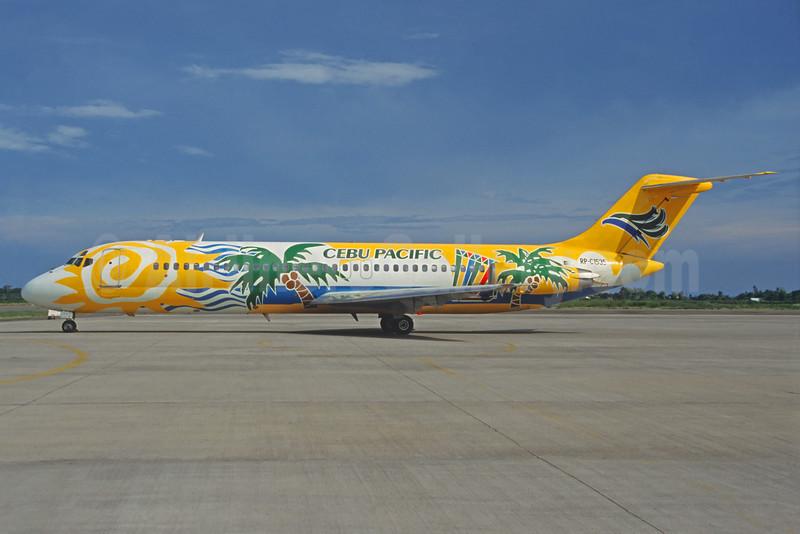 Cebu Pacific Air McDonnell Douglas DC-9-32 RP-C1535 (msn 47266) KIX (Michel Saint-Felix). Image: 934220.