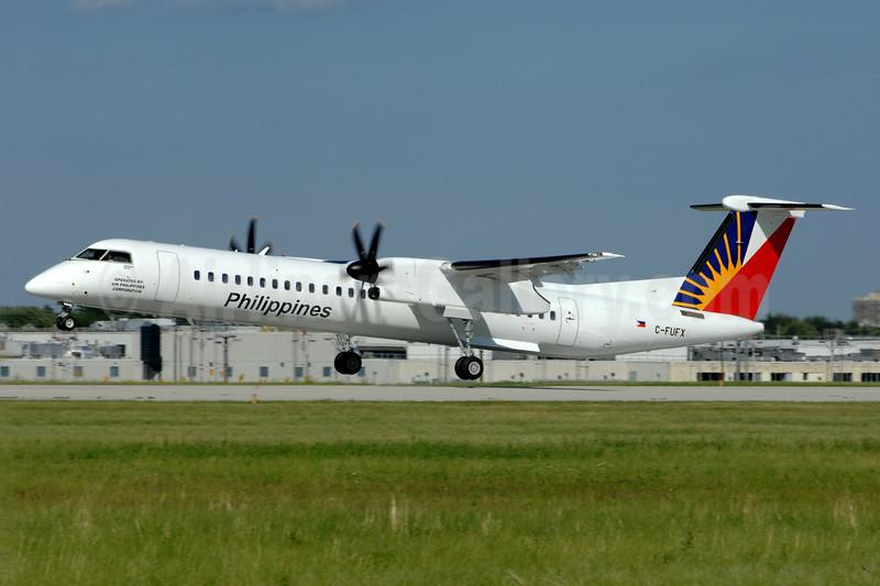 Philippines - Air Philippines Corporation Bombardier DHC-8-402 (Q400) C-FUFX (msn 4561) YZD (TMK Photography). Image: 938685.