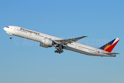 Philippines (Philippine Airlines) Boeing 777-3F6 ER RP-C7775 (msn 35555) LAX (Michael B. Ing). Image: 939364.