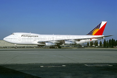 Philippines (Philippine Airlines) Boeing 747-2F6B N744PR (msn 22382) CDG (Christian Volpati). Image: 939837.