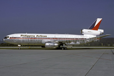 Philippine Airlines McDonnell Douglas DC-10-30 RP-C2114 (msn 47838) ZRH (Rolf Wallner). Image: 924329.