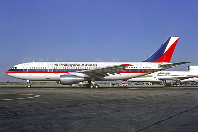Philippine Airlines Airbus A300B4-203 RP-C3004 (msn 203) KHI (Christian Volpati Collection). Image: 951995.