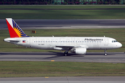 Philippines (Philippine Airlines) Airbus A320-214 RP-C8615 (msn 3731) SIN (Michael B. Ing). Image: 905319.