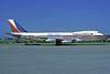 Philippine Airlines Boeing 747-2F6B N741PR (msn 21832) (Mabuhay! Chicago) ZRH (Rolf Wallner). Image: 913321.