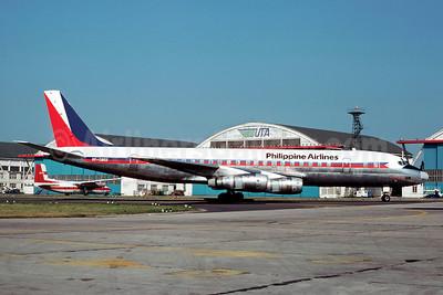 Philippine Airlines McDonnell Douglas DC-8-53 RP-C803 (msn 45937) LBG (Christian Volpati). Image: 902351.