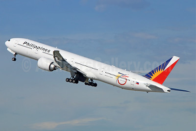 Philippines (Philippine Airlines) Boeing 777-3F6 ER RP-C7774 (msn 35556) (75 Years) LAX (Michael B. Ing). Image: 939363.