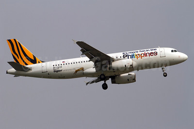 Tigerair (Philippines) Airbus A320-232 RP-C6319 (msn 5188) (It's more fun in the Philippines) SIN (Kok Chwee K.C. Sim). Image: 921090.