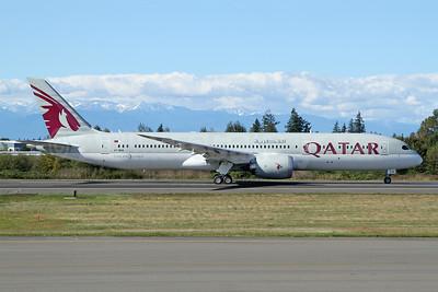 Qatar Airways' first Boeing 787-9 Dreamliner