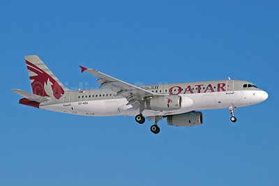 Qatar Airways Airbus A320-232 A7-ADU (msn 3071) DME (OSDU). Image: 904549.