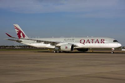 Qatar Airways Airbus A350-941 A7-ALA (msn 006) LHR. Image: 937543.