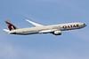 Qatar Airways Boeing 777-3DZ ER A7-BAI (msn 36095) LHR (SPA). Image: 934996.
