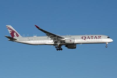 Qatar Airways Airbus A350-1041 A7-ANC (msn 110) JFK (Fred Freketic). Image: 947757.