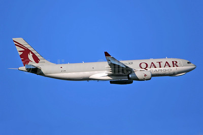 Qatar Airways Cargo Airbus A330-243F A7-AFG (msn 1584) LHR (SPA). Image: 941302.