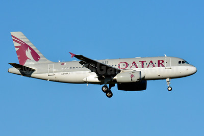 Qatar Airways Airbus A319-133 (ACJ) A7-HHJ (msn 1335) BSL (Paul Bannwarth). Image: 929159.
