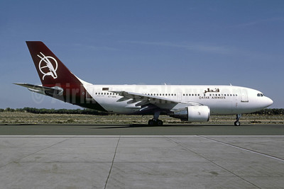 Qatar Airways Airbus A310-222 A7-ABA (msn 267) SHJ (Bernhard Ross). Image: 953903.