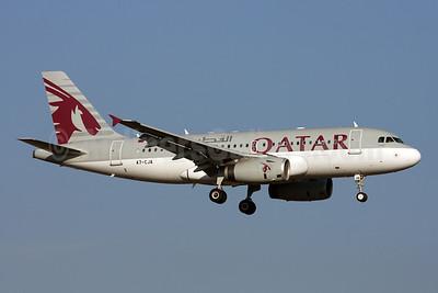 Qatar Airways Airbus A319-133 (ACJ) A7-CJA (msn 1656) ZRH (Andi Hiltl). Image: 908058.