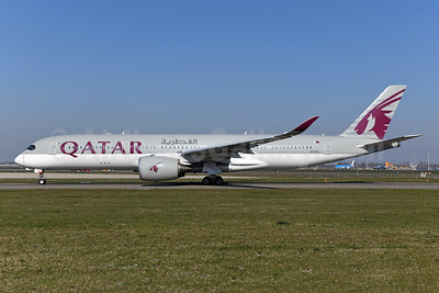 Qatar Airways Airbus A350-941 A7-ALL (msn 036) AMS (Ton Jochems). Image: 950084.