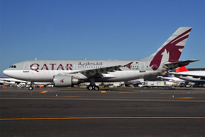 Qatar Airways Airbus A310-308 A7-AFE (msn 667) (Amiri Flight) JFK (Ken Petersen). Image: 903909.