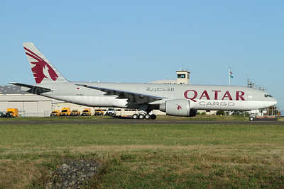 Qatar Airways Cargo Boeing 777-FDZ A7-BFK (msn 62084) PAE (Nick Dean). Image: 934975.