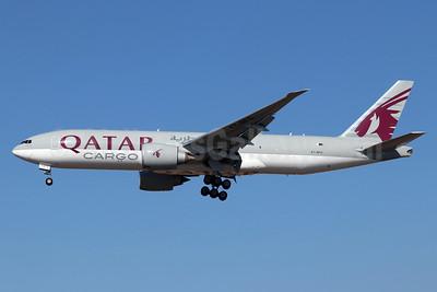 Qatar Airways Cargo Boeing 777-FDZ A7-BFC (msn 36099) LAX (Michael B. Ing). Image: 948413.